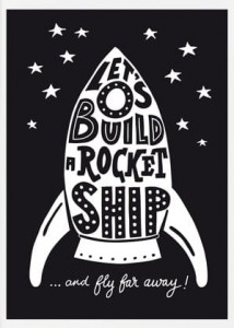 Let's build a rocketship - B2
